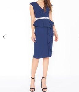 NWT Mac Duggal Cap Sleeve Cocktail Dress
